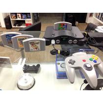 Nintendo 64 Jp Yoshi Story + Pokemon 4 Games Completo 100%