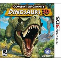 Combat Of Giants Dinosaurs 3d Nintendo 3ds Lacrado!!!