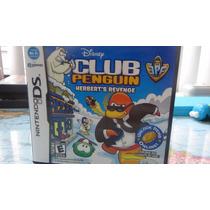 Jogo Nintendo Ds Club Penguin Herbert