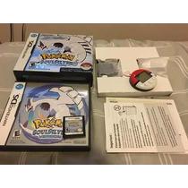 Pokemon Soul Silver (usa) - Caixa + Capinha + Pokewalker