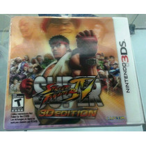 Street Fighter Iv 3d Edition - 3ds