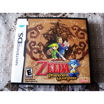 Zelda Phantom Hourglass Dsl Ds Original Americana Perfeito