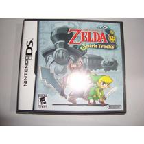Zelda Spirit Tracks Dsl Ds 3ds Orig. Americana Fita Lacrada