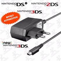 Carregador 110~220v Para Nintendo Dsi, Dsi Xl,3ds E 3ds Xl