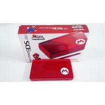Nintendo Ds Lite Special Edition Mario Red Usado