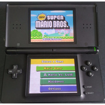 Nintendo Ds Lite Original Ótimo Com 140 Jogos + Emuladores