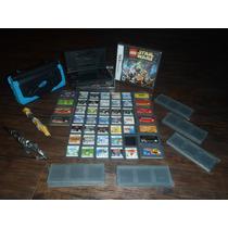 Dsi 7 Consolescompleto Com 30 Jogos+acessorios 2psp 20 Jogos