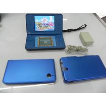 Nintendo Dsi Xl Destravado + Case De Alumínio