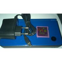 Console Portátil Nintendo Dsi Xl Fonte Jogos Caneta Styllus