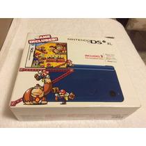 Nintendo Dsi Xl C/ Jogo Mario Vs. Donkey Kong Produto Novo