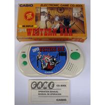 Mini Game Watch Casio Western Bar Série Tela Grande