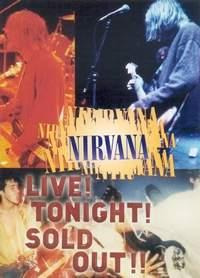Nirvana - Live! Tonight Sold Out! - Dvd Novo Lacrado