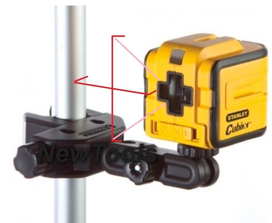 Nivel laser 12m stanley com suporte articulado stht77340 - Nivel laser stanley ...