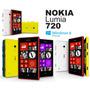 Nokia Lumia 720 Dual Core 8gb Anatel 6.7m Desbloq Snapdragon