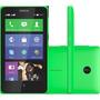 Smartphone Nokia X Verde, Dual Chip, Processador Dual Core,