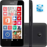 Nokia Lumia 635 4g 8gb Gps 1.2ghz 5mp Nf Semi-novo