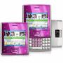 Nokia X5 Rosa 3g, W-fi Teclado Qwerty Câmera 5.0mp Rádio Fm
