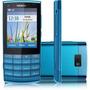 Celular Nokia X3-02 Azul Câm 5mp,wi-fi,3g,fm,mp3,cartão 2gb