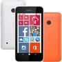 Celular Nokia Lumia 530 Branco + Capa Laranja + Frete Grátis