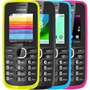 Celular Nokia 110 Colors Mp3 Fm Camera Vga Bluetooth