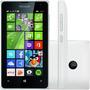 Lumia 435 Dual C/ Tv Digital Integrada Branco 12x S/ Juros