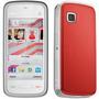 Nokia 5230 / Branco E Vermelho / 3g / 2mp / Touchscreen / Mp