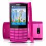 Celular Smartphone Nokia X3 02 Rosa 5mp Wifi 3g Fm Original