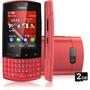 Celular Nokia Asha 303 Novo Nacional!nf+fone+2gb+garantia!