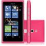 Nokia Lumia 800 Com Windows Phone 8mp Rosa I Vitrine
