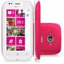 Nokia Lumia 710 Branco Com Rosa 8gb 5mp Windows Phone Nfe