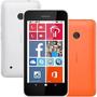 Nokia Lumia 530 4gb Branco (acompanha Capa Laranja)
