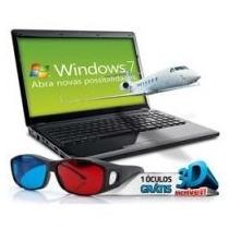 Notebook Positivo Sim 2500 Amd C60 4gb Ram 320gb Hd 15.6 3d