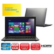 Notebook Cce Win Ultra Thin T745 Intel Core I7 4gb/500gb