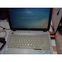 Notebook Acer Usado Modelo 4310 2921 Tela Branca