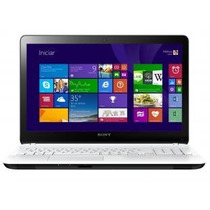 Notebook Sony Vaio Fit Svf15213cbw Core I5 4gb Led 15.5