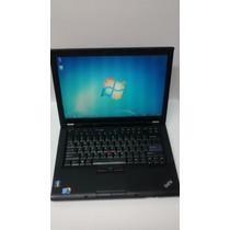 Notebook Lenovo T410 - Core I5 4gb De Memória Hd De 500gb