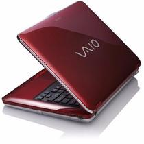 Notebook Sony Vaio 14 Vgn-cs360a/r Sem Uso. Na Embalagem