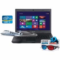 Notebook Positivo Sim 4990m Core I3 3110m 2gb Windows 8
