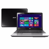 Notebook Acer E1-471 Intel I3 Ram 2gb Hd 500gb Led 14 Wind 8