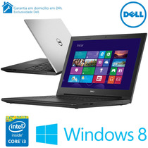 Notebook Dell Inspiron Com Intel® I3, 15,6, 4gb, 1tb De Hd