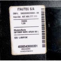 Carcaça Notebook Itautec A7520