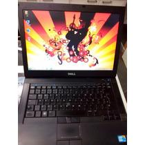 Notebook Dell Core I7 E6410 4gb Hd250 W7 Pro + Bateria Nova