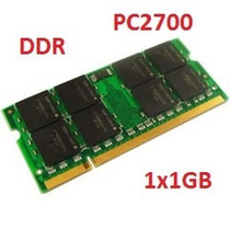 Memória Para Notebook Ddr 1gb 333mhz Pc2700 Kingston