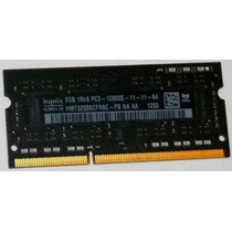 Memória Notebook Ddr3 1x 2gb 1600mhz Pc12800 Hynix Mac Apple