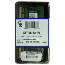 Memoria Nuc Notebook Ddr3l 4gb 1600mhz Pc3-12800 Kvr16ls11/4