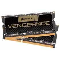 Memória Notebook 8gb 1600mhz Corsair Vengeance 2x4gb 204-pin