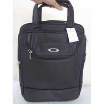 Mochila Executiva Masculina Ocley Bag Couro Notebook Marrom