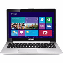 Notebook Asus S400ca 14 Pol Touchscreen Preto Windows 8 Nf