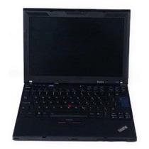 Notebook X201 Core I5-520m 2.4 4gb 128gb Usado Com Avarias
