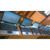 Notebook Hp Elitebook 2530p Core2duo 3gb Tela 12 Dvdrw Hd120
